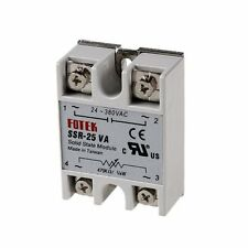 New SSR-25VA 25A 24-380VAC Solid State Relay BOOSTER Single-Phase