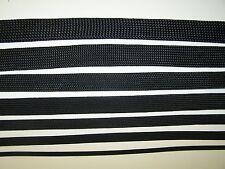 "NYMAX  PREMIUM 5' Braided black flex wire loom sleeve sheath 1-1/4"" expandable"
