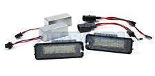 Leon 1P 2005 + LED Number License Plate Light Lamp Unit SEAT CANBUS ERROR FREE