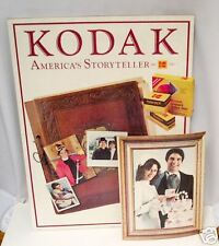 Vintage Kodak Easel-backed Ad Sign w/ popout - 1980