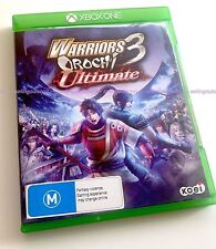Warriors OROCHI 3 Ultimate Xbox ONE (NEW PAL VERSION) Dynasty Samurai KOEI TECMO