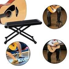 More details for adjustable guitar foot stool classical music  folding footstool bracket