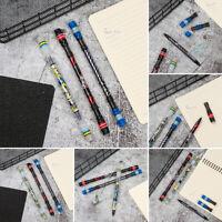 Aggravated Anti-Skid Rolling Non Slip Rotating Ballpoint Pen Spinning Pen