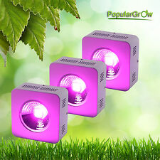 3Pcs 200W Led Grow Light Cob 90 Degree Reflector Cup for Commercial Cultivation