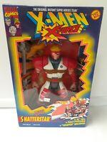 """X-Men Deluxe Edition 10"""" Inch Shatterstar Action Figure Marvel Toy Biz 1994"""