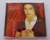 MICHAEL JACKSON Erth Song 1995 EU 3 TRACK CD SINGLE INCLUDES DMC MEGAMIX