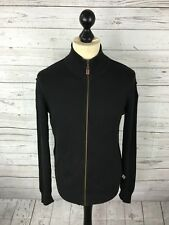 TIMBERLAND Full Zip Cardigan - Small - Black - Great Condition
