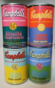 Andy Warhol 60th Anniversary Campbell's Soup Cans - Complete Set of 4