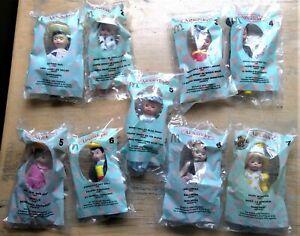 9) McDonald's Madame Alexander Dolls Happy Meal Toys #1-7 (2-#5's & 2-#6's)