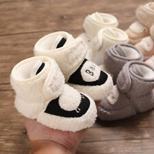 Cute Infant Child Winter Snow Boots Baby Boy Girl Comfortable Sheep Warm Booties