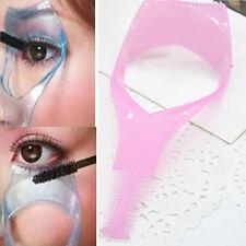 3 in 1 Mascara Eyelash Curler Lash Comb Guide Eye Lash Pink/BlueApplicator Tool