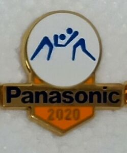 WRESTLING TOKYO 2020 PANASONIC OLYMPIC PIN