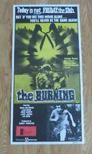 THE BURNING ORIGINAL 1981 CINEMA DAYBILL FILM POSTER RARE CULT HORROR SLASHER