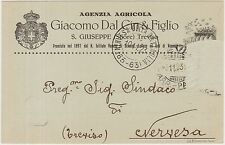 TREVISO - AGENZIA AGRICOLA GIACOMO DAL CIN & FIGLIO - S.GIUSEPPE (STIORE) 1923