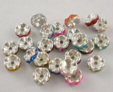 Any Purpose Multi Rondelle Jewellery Making Craft Beads