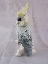 Ens Figur Kakadu Papagei Figurine Figure Porzellanfigur 30 cm Parrot Mühlenmarke