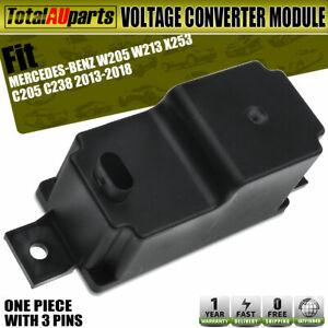 Voltage Converter Module for Mercedes Benz W205 W213 X253 2013-2018 2.0L 2.4L