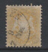 Germany (Bavaria) - 1870/73, 10Kr - Wmk Narrow Mesh 14mm - F/U - SG 60B