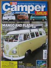 VW Volksworld Camper & Bus March 2016 Volkswagen Westfalia Devon Pick-Up Split