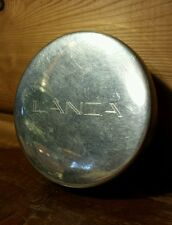 Vintage Round Tiffany & Co. Lanza Pewter Handcrafted Trinket Box Cobalt Lining