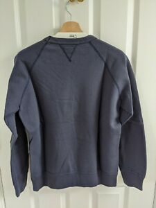 The Real McCoy's navy sweatshirt