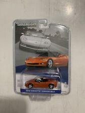 Greenlight GM Collection 2012 Chevy Corvette Convertible Orange 1:64 NEW