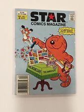 Star Comics Magazine #1 (Marvel comics 1986) Heathcliff Ewoks Muppet Babies FN-