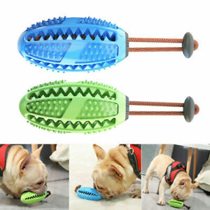 Pet Friend Dog Dental Toothbrush Treat Ball Teeth Cleaning Aid Interactive Toy