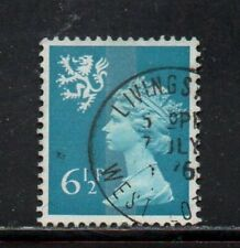 SG S23 6½p Scotland Machin - Fine Used Livingston CDS