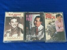 Lot Of 3 Ray Price Cassette Tapes Release Me Collectors Choice Country Classics