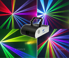 1W RGB DMX Full Color Animation Laser Light DJ Xmas party Stage Effect 1000mW