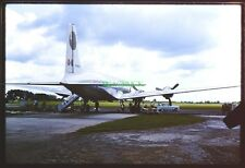 5 35mm Slides TAPACHULA AIRPORT MEXICO 1964 MEXICANA DE AVIACIEN DC6 Airliner