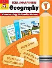 Skill Sharpeners Geography, Grade 1, Paperback by Evan-Moor Educational Publi...