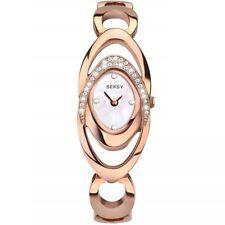 Seksy Wristwear by Sekonda Ladies Stone Set Watch With Mother of Pearl Dial 4281