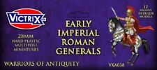 28MM EARLY IMPERIAL ROMAN GENERALS - VICTRIX - SHIPPING NOW