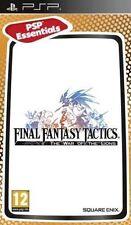 Final Fantasy Tactics War of The Lions (essentials) Game PSP