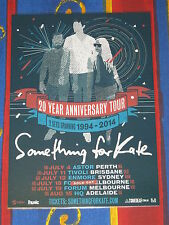 SOMETHING FOR KATE - 2014  Australian Tour - Laminated Promotional Poster