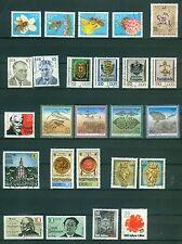 DDR Jahrgang 1990 , gestempelt , Auswahl aus Michel Nr. 3295 - 3365