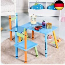 3 Tlg. Kindersitzgruppe Kindermöbel Kinderstuhl & Tisch Maltisch Kinderzimmer