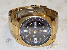 Men's SEIKO  Gold-Tone  Recraft Skeleton Back Automatic 7S26-04B0 Watch