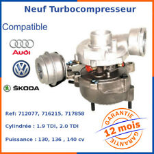 Neuf Turbo Turbocompresseur pour AUDI A6 2.0 TDI 136 140 cv 038145702X