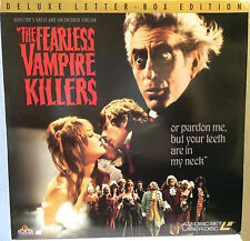 The Fearless Vampire Killers Laserdisc Uncut Uncensored Sharon Tate Laser Disc