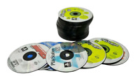 Sony PlayStation 1 PS1 PSX 60+ Scratched Demo Disc Video Game Lot AS-IS