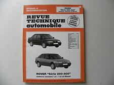 Revue technique automobile RTA ROVER série 200 - 400 essence 1.4 - 1.6 et diesel