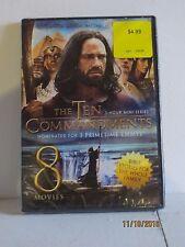 The Ten Commandments 3 hour mini series 8 movies DVD SellerRef#3