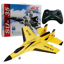 FX-820 2.4G Remote Control Plane Aircraft -RC Fighter -Fixed Wing Airplane UK