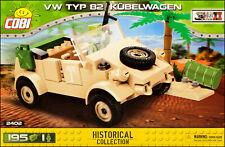 COBI VW type 82 Kubelwagen (2402) - 195 elem. - WWII German military car