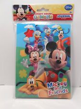 Journal Disney MICKEY MOUSE & FRIENDS Clubhouse Children's Diary Notebook Agenda