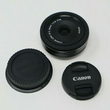 Canon EFS 24mm F/2.8 STM Lens - Canon EF-S EOS Mount Prime Pancake