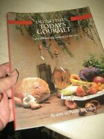 Vtg 1991 CLASSIC Jacques Pepin TODAYS GOURMET Cookbook Soft Cover Book